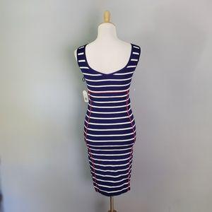 Jessica Simpson Dresses - Jessica Simpson Bodycon Striped Dress Size Small